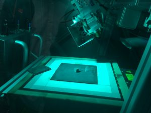 Laser treatment of parts