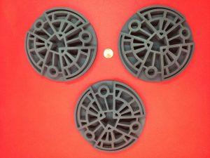 3D printed heat shield