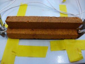 Testing of silica aerogels